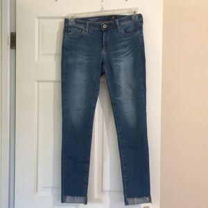 AG skinny ankle jeans